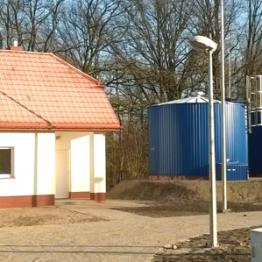 Stacja uzdatniania wody w m. Teodorów