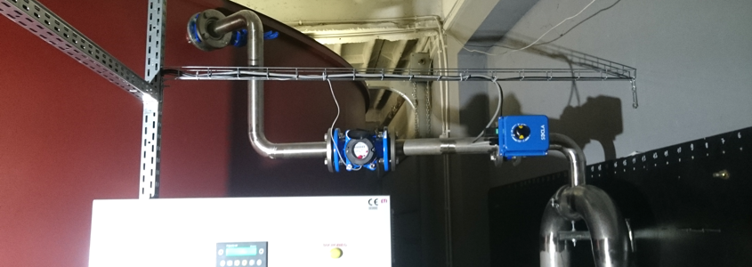 Realizacja – zbiornik wyrównawczy z zestawem hydroforowym