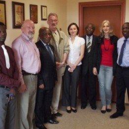 Wizyta delegacji z Kongo w Firmie Bartosz