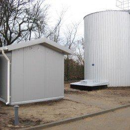 Przebudowa stacji uzdatniania wody w m. Poryte Jabłoń