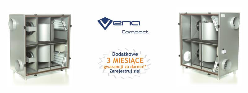 Rekuperatory VENA Compact