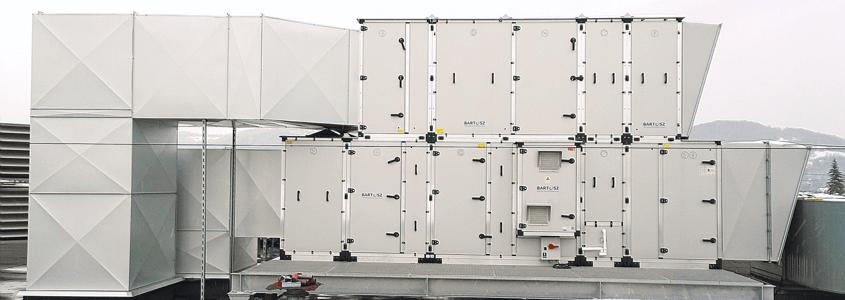 Realizacja – dostawa central wentylacyjnych do Makowa Podhalańskiego