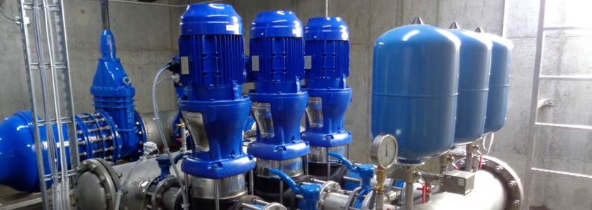 Zakończona realizacja: dostawa i montaż wodociągowej pompowni wody