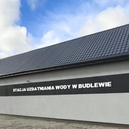 Stacja uzdatniania wody w Budlewie