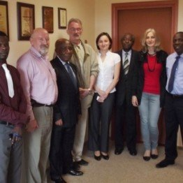 Delegation from RDCongo in Bartosz Company
