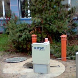 Przepompownia wody gorącej w Białymstoku