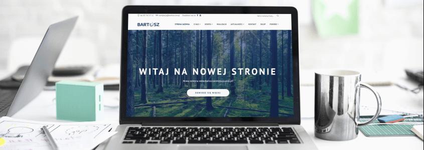 Nowa strona www.bartoszwentylacja.com.pl