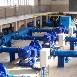 Water pumping stations