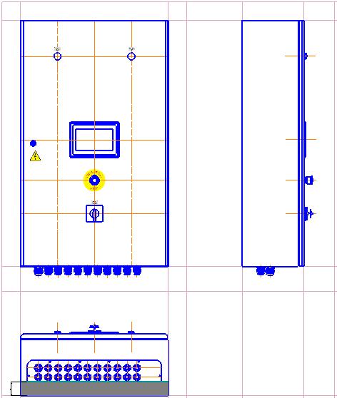 Szafa sterująca - schemat